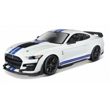 1/18 MUSTANG SHELBY BLANCO...