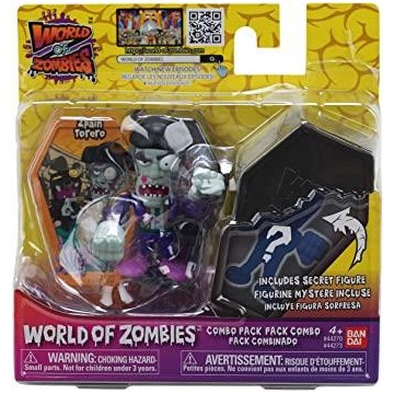 PACK 2 FIG WORLD OF ZOMBIES...